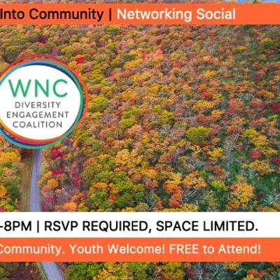 Fall into Community  Networking Social
