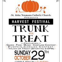 Harvest Festival-Trunk or Treat