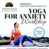 Yoga for Anxiety (Sarah Domes)