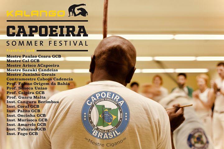 Kalango Capoeira Sommer Festival