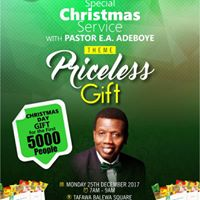 Special Christmas Service with Pastor E.A Adeboye