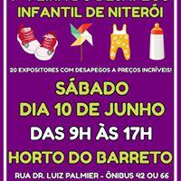 7 Feira do Desapego Infantil de Niteri