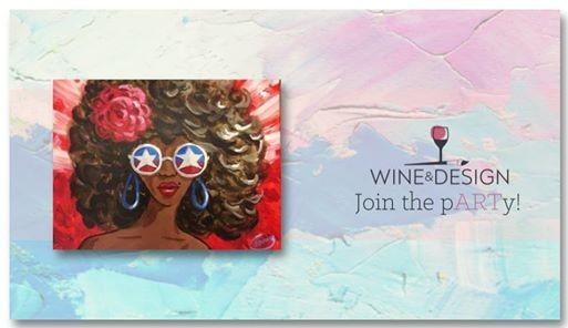 Sip Paint American Diva At Wine Design Wake Forest Nc1839 S