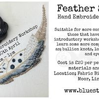 Feather Sample Hand Embroidery Workshop 20pp