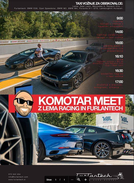 Komotar MEET z LEMA Racing in Furlantech