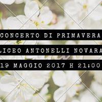 Concerto di Primavera Liceo Antonelli Novara