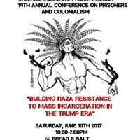 19th Annual Conference On Prisoners &amp Colonialism
