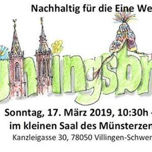 Frühlingsbrunch   Nachhaltig Für Die Eine Welt. MünsterzentrumKanzleigasse  30 , 78048 Villingen Schwenningen ...