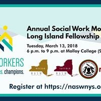 Annual Social Work Month Long Island Fellowship Event