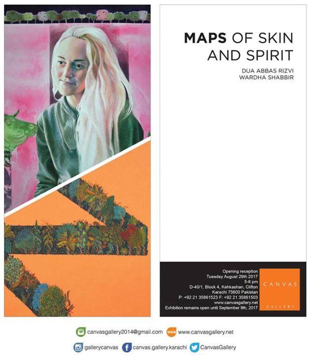 Maps of Skin and Spirit - Dua Abbas Rizvi / Wardha Shabbir