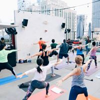Fit &amp Fun Urban Flow Rooftop Yoga