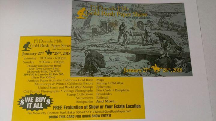 gold rush paper