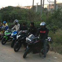 Breakfast Ride With Street Fighter