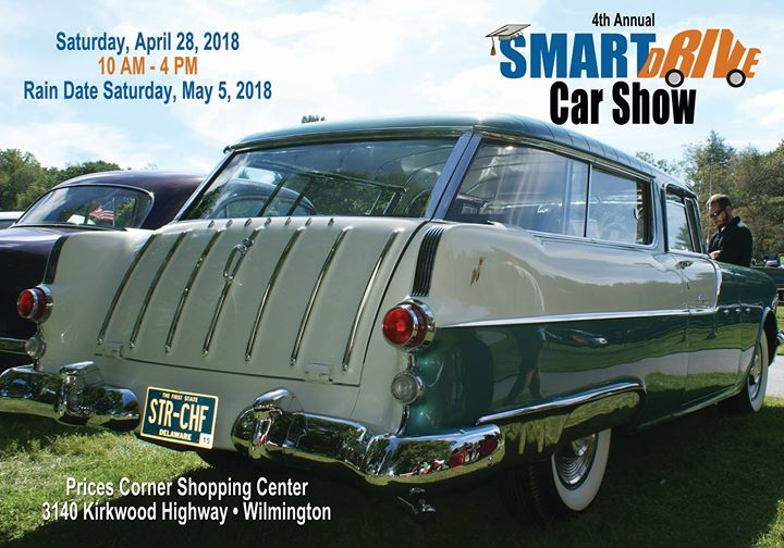 Th Annual SmartDrive Car Show At Prices Corner Shopping Center - Wilmington car show