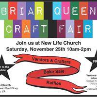 Briar Queen Craft Fair