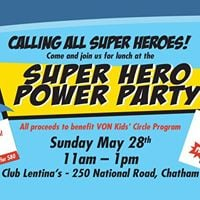 SUPER HERO POWER PARTY