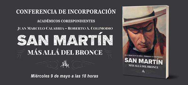 San Martín  Más allá del bronce at Instituto Nacional
