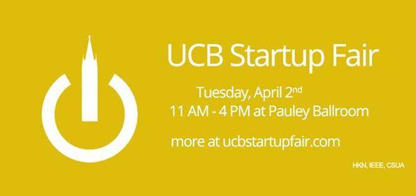 UCB Startup Fair Spring 2019