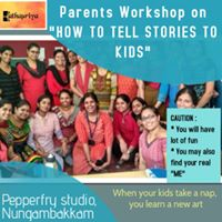 How to tell stories to kids (Chennai)