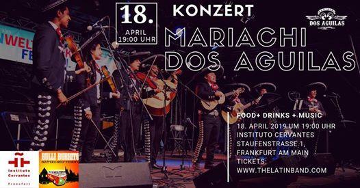 Mariachi Dos Aguilas Konzert Frankfurt