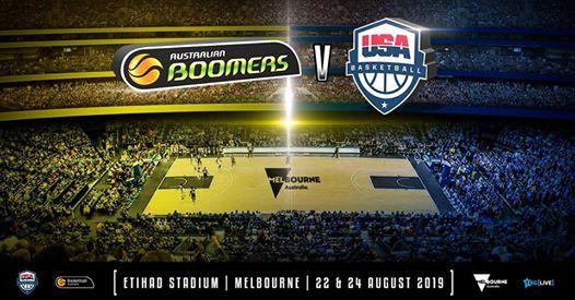 Australian Boomers Vs USA Basketball