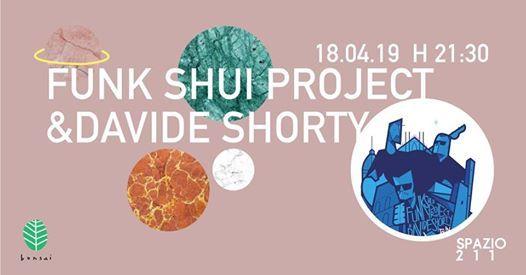 Funk Shui Project&Davide Shorty in concerto a sPAZIO211  Torino