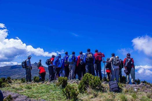 Mt Kinangop Hike on 7th July