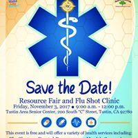 Resource Fair &amp Flu Shot Clinic