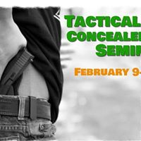 Tactical Skills Concealed Carry Seminar