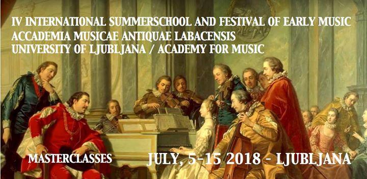 4. Accademiae Musicae Antiquae Labacensis 5-15 July 2018