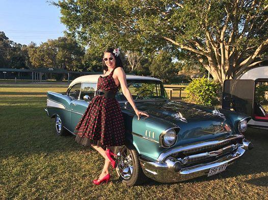 GC Rockabilly Retro Car Show At Gold Coast Car ShowShowgrounds - Rockabilly car show