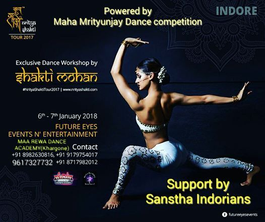 Nritya Shakti Tour Indore -2017-18