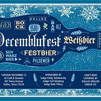 Decemblufest - Judges Tobolowsky Tillery and Ginsberg