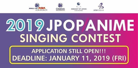 2019 J-pop Anime Singing Contest at Sm Mall of Asia Cinema