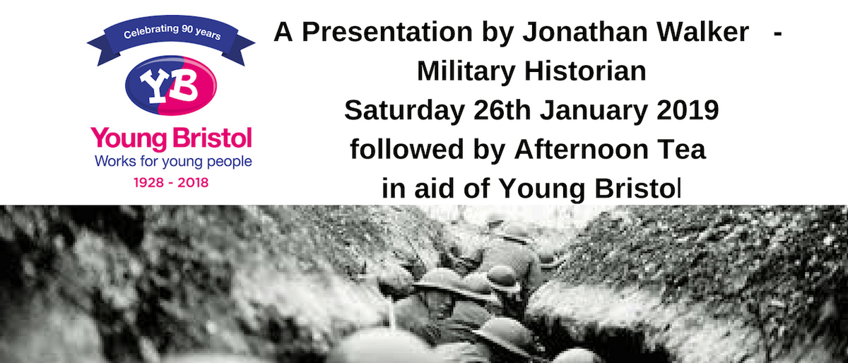 A Presentation by Jonathan Walker- Military Historian followed by Afternoon Tea
