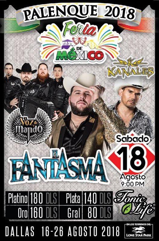 Palenque Feria  de Mexico - Dallas Tx.