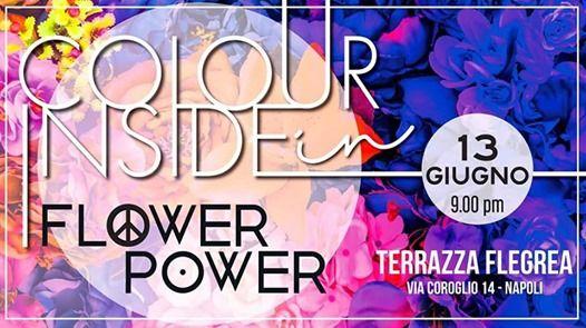 Colour Inside Flower Power At Terrazza Flegrea Napoli