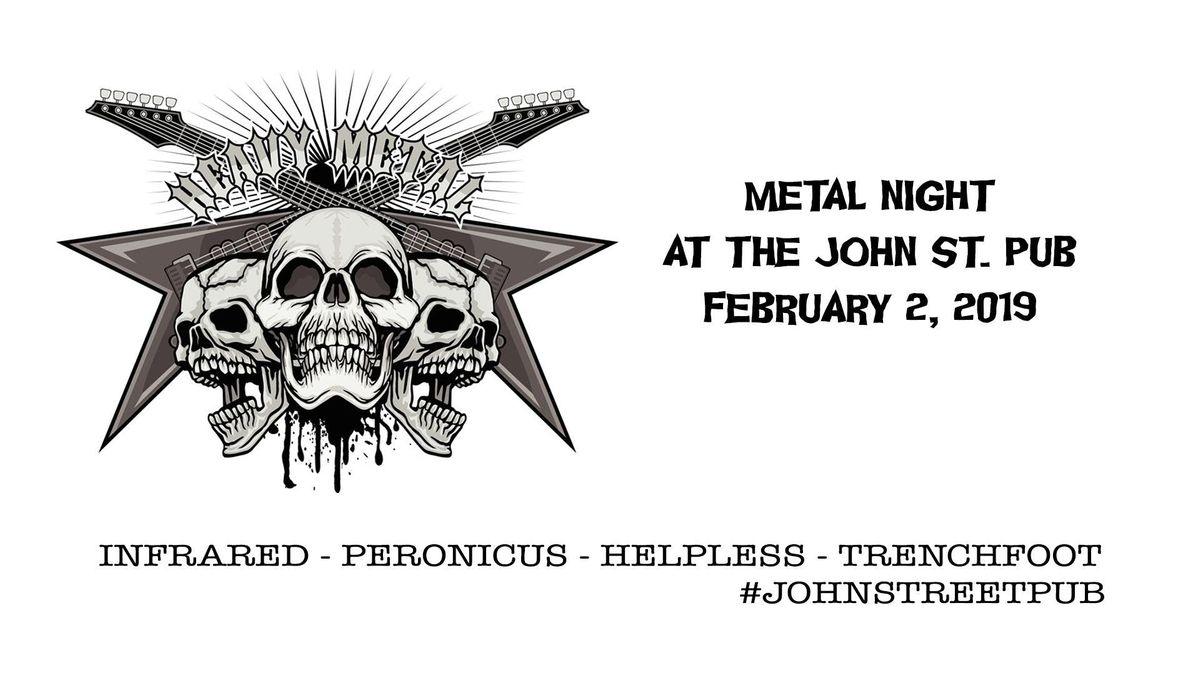 Metal Night at The John St. Pub