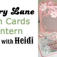 Vellum Cards &amp Lantern  a workshop with Heidi