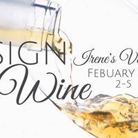 Design &amp Wine at Irenes Vineyard