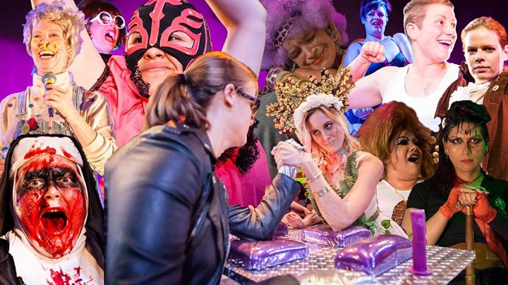 Los Angeles Ladies Arm Wrestling Presents Queens at the Table