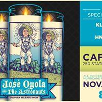 Taco Hut Presents Jose Oyola &amp the Astronauts &quotCultura&quot Release Show