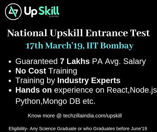 National Upskill Entrance Test