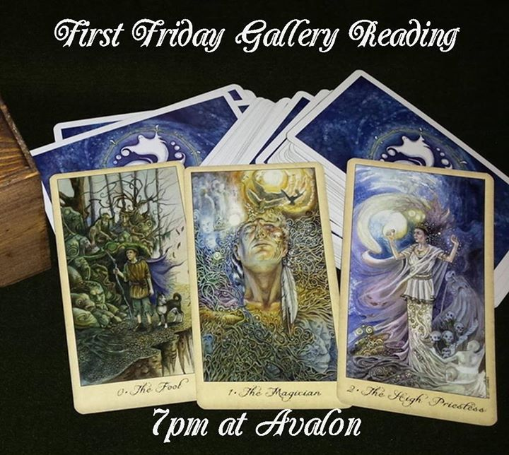 First Friday Gallery Reading New Years Special 30 per person