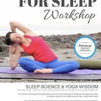 Yoga for Sleep with Sarah Domes