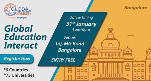 Welcome To Global Education Fair 2019 Bangalore By The Chopras