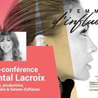 Dner-confrence avec Chantal Lacroix