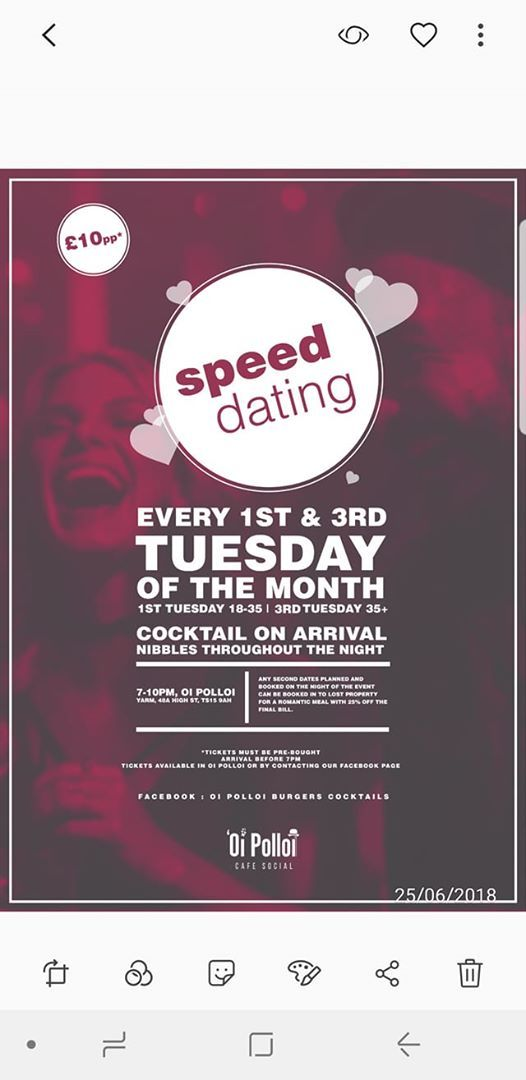 speed dating newcastle 2018