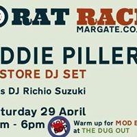 Eddie Piller in-store DJ set at Rat Race Margate this Sat 29th