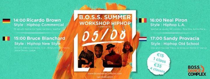 BOSS Summer Workshop Hip Hop Commercial